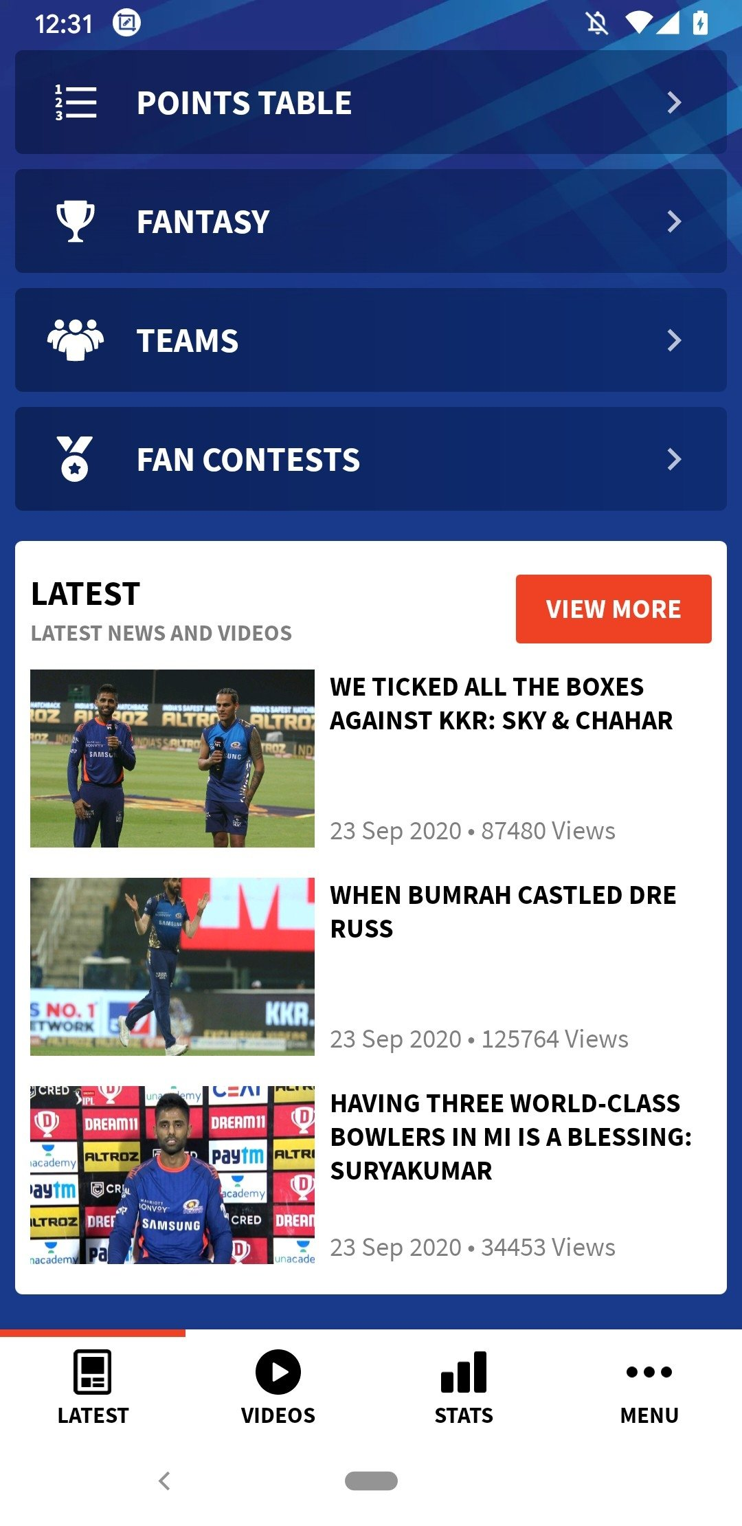 IPL 2019 9 9 4 - Download for Android APK Free