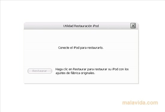 iPod Reset Utility 1 0 4 71 - Download for PC Free