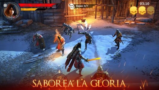 Iron Blade: Medieval Legends RPG iPhone image 5