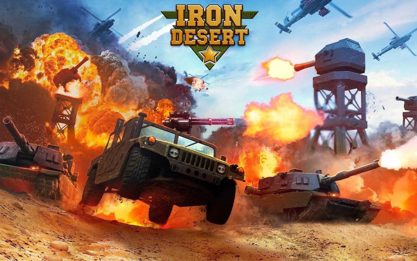 Iron Desert Android image 6