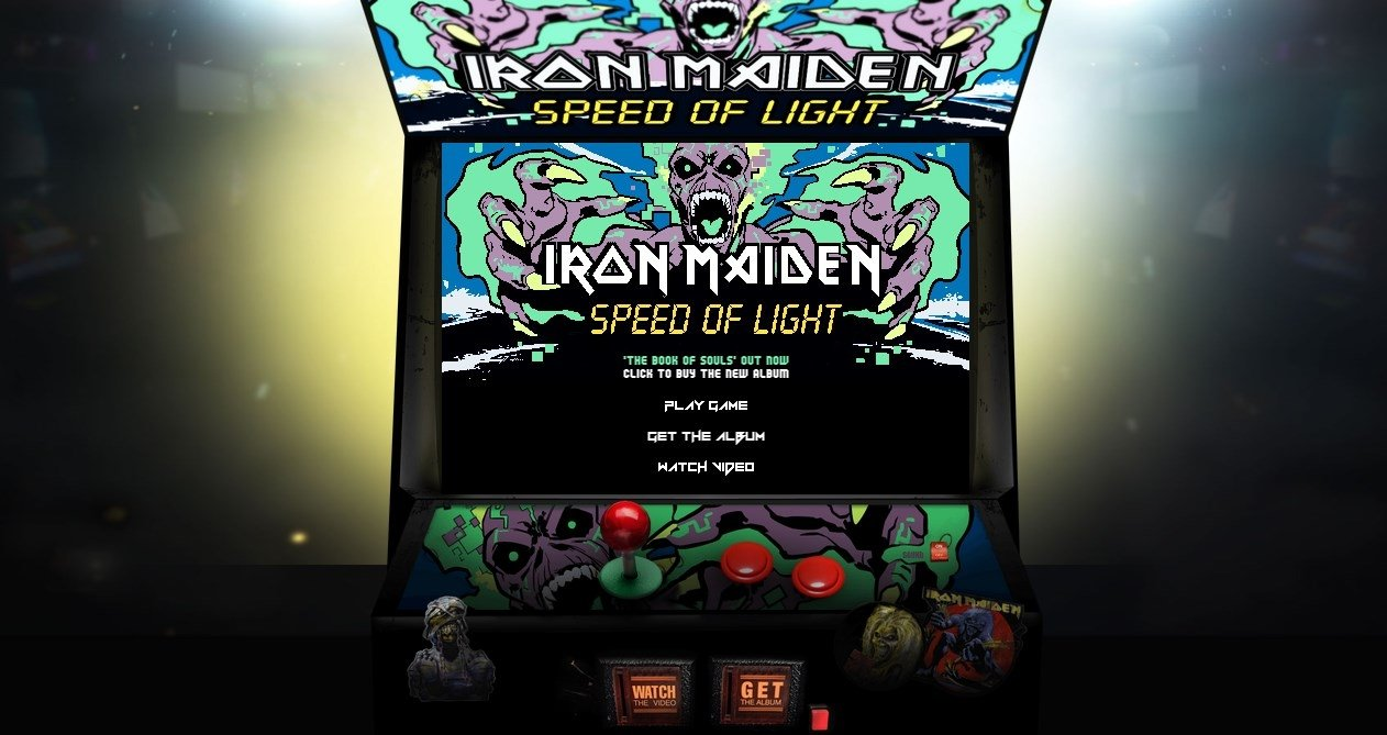 Iron Maiden: Speed of Light Webapps image 4