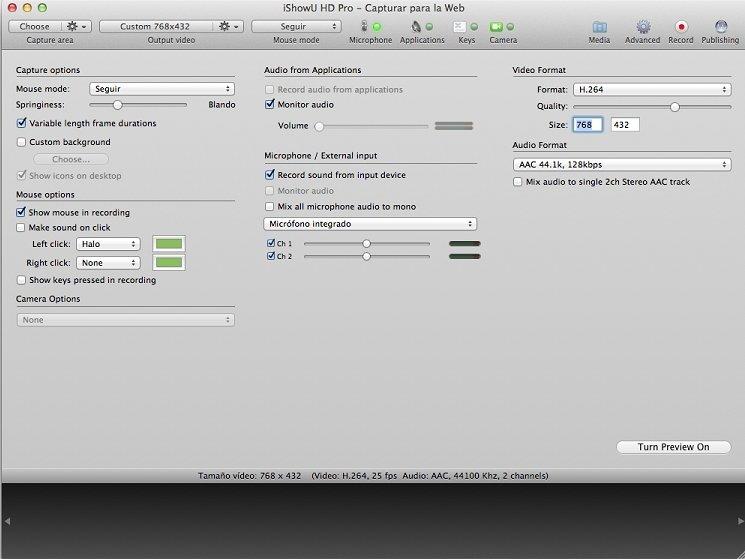 iShowU HD Pro 2 3 22 - Download for Mac Free