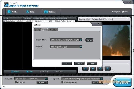 iSkysoft Apple TV Video Converter