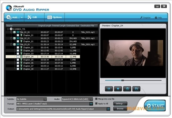 iSkysoft DVD Audio Ripper image 4