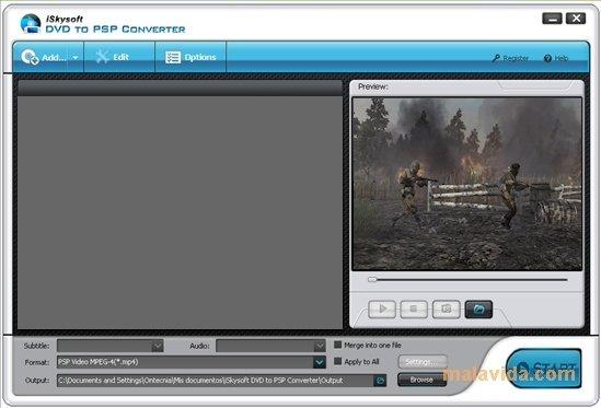 iSkysoft DVD to PSP Converter image 4