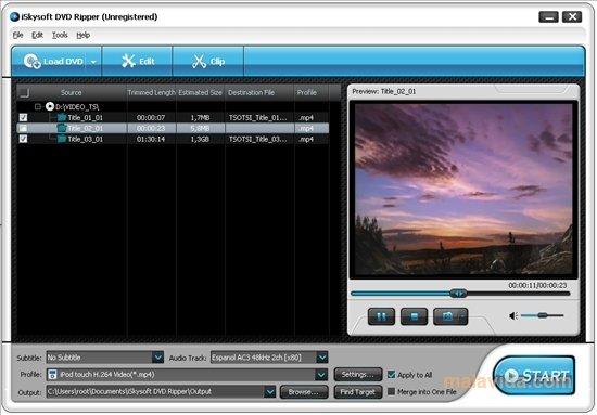 iSkysoft DVD Ripper image 4