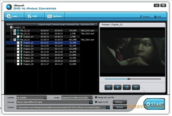iSkysoft DVD to iPhone Converter image 4