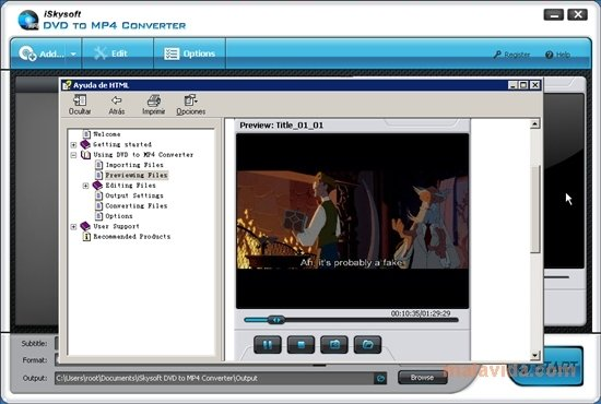 iSkysoft DVD to MP4 Converter