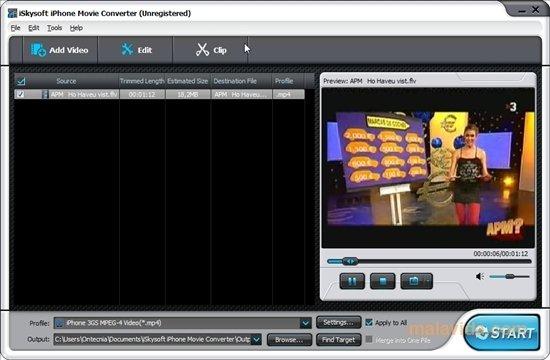 iSkysoft iPhone Movie Converter image 4