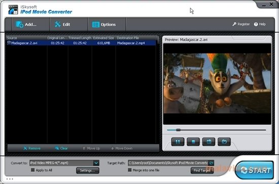 Movie for ipod download