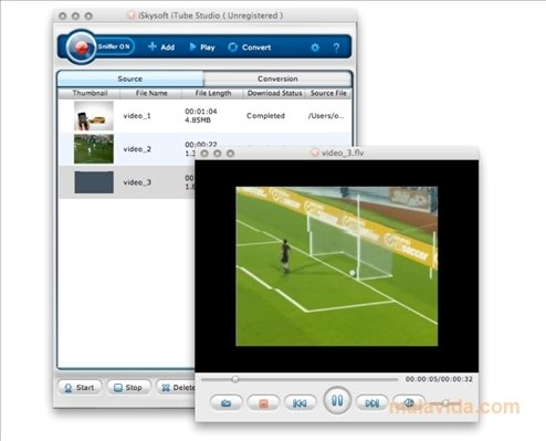 Descarga de software iSkysoft iTube Studio 2