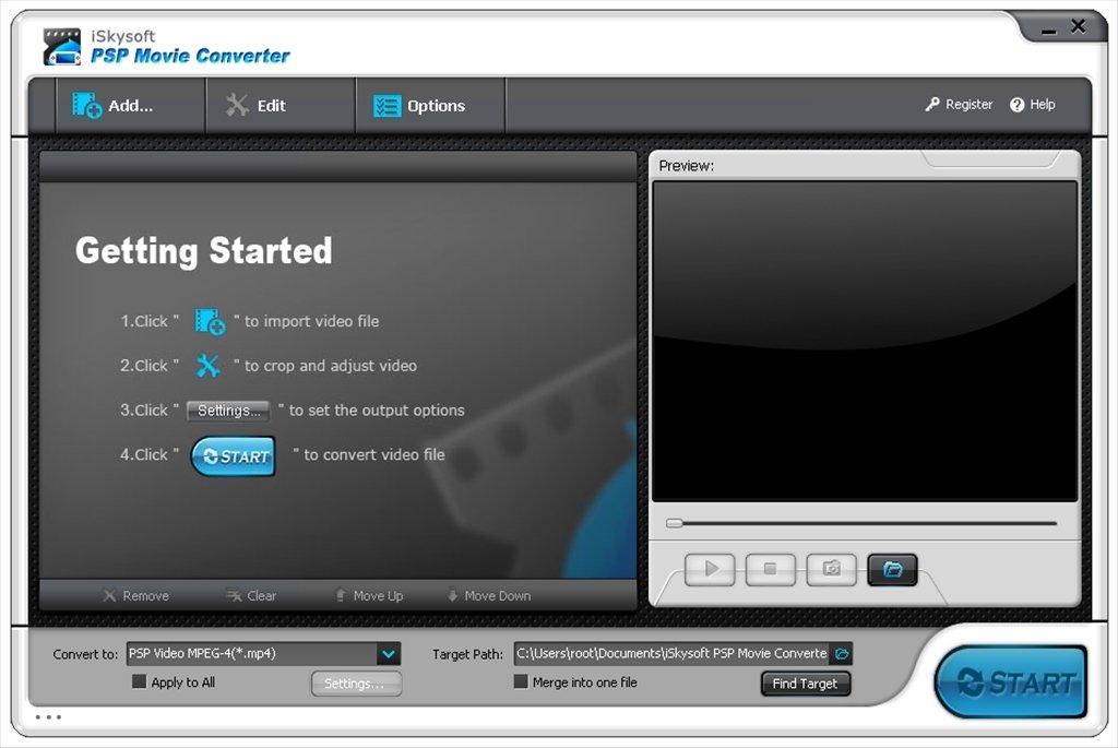 iSkysoft PSP Movie Converter image 6
