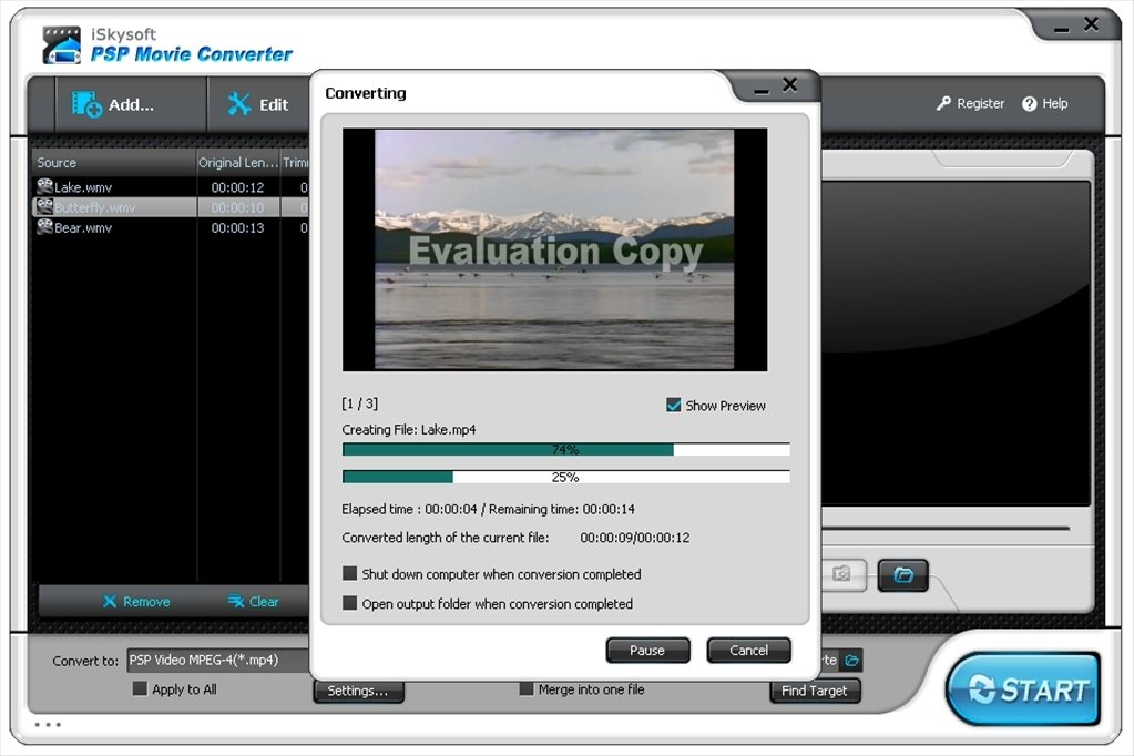 Ultra psp movie converter 3. 9. 1120 (free) download latest.