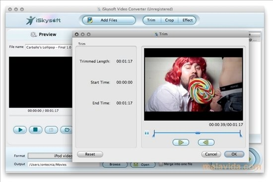 iSkysoft Video Converter Mac image 4
