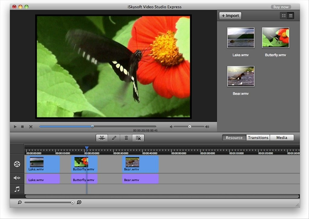 iSkysoft Video Studio Mac image 4