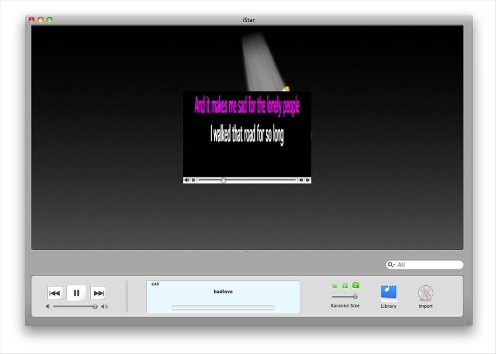 iStar Karaoke Mac image 5