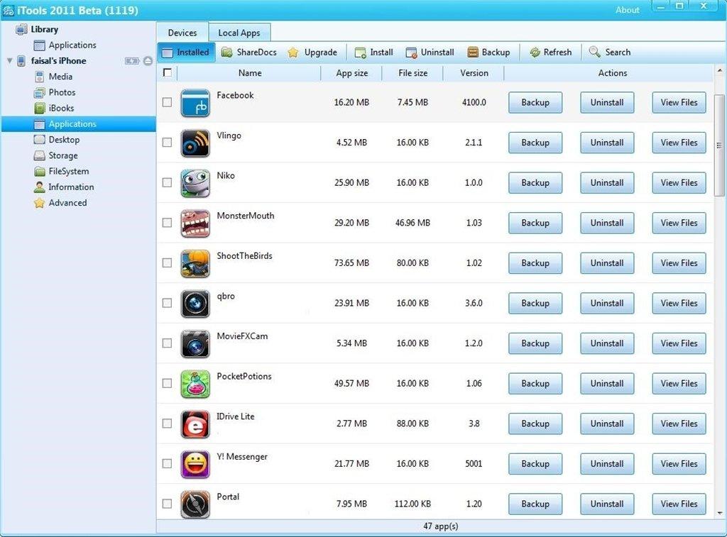 itools gratis para iphone