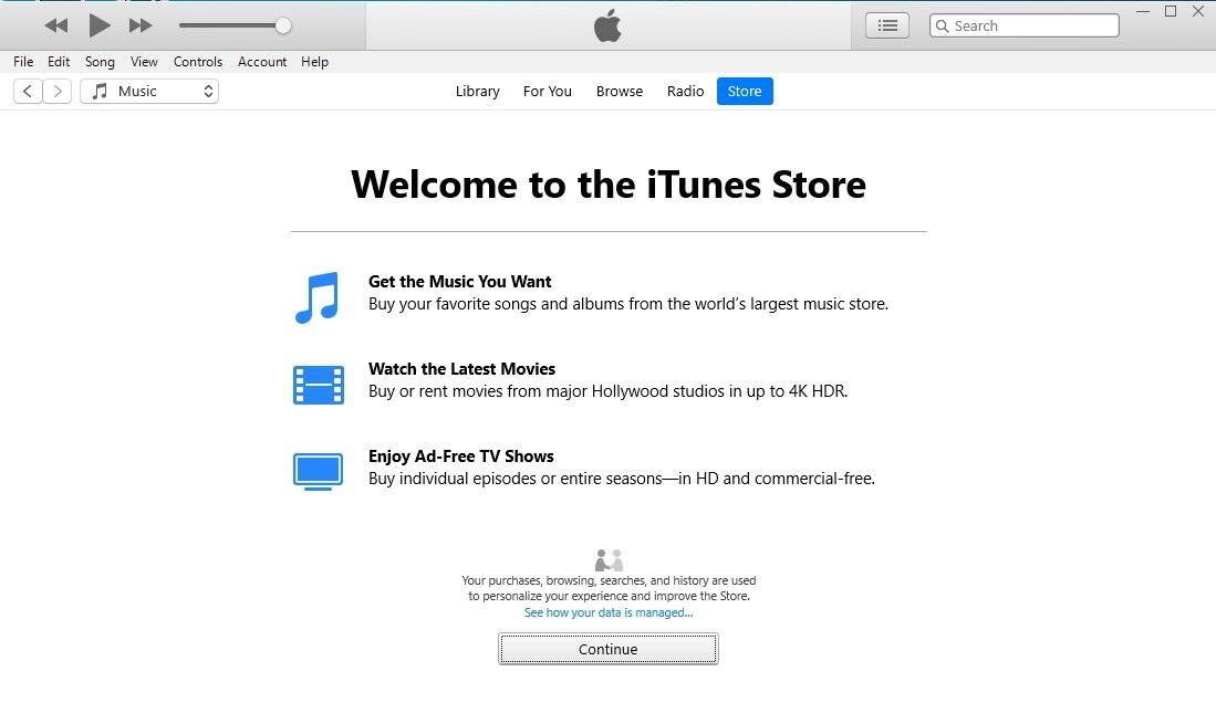 descargar itunes 12.9 para windows 10