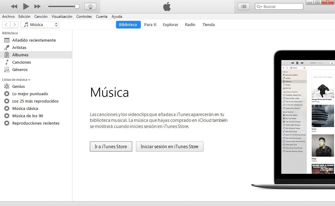 Apple - iTunes - Afiliados - Descargar iTunes