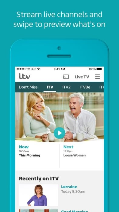 ITV Hub - Download for iPhone Free