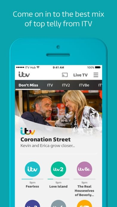 82a5bb817b ITV Hub 8.4 - Download for iPhone Free