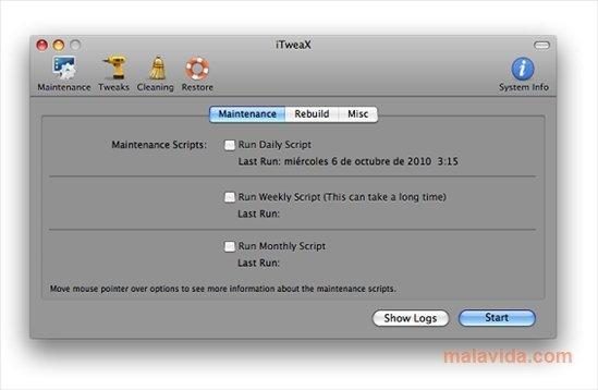 iTweax Mac image 5