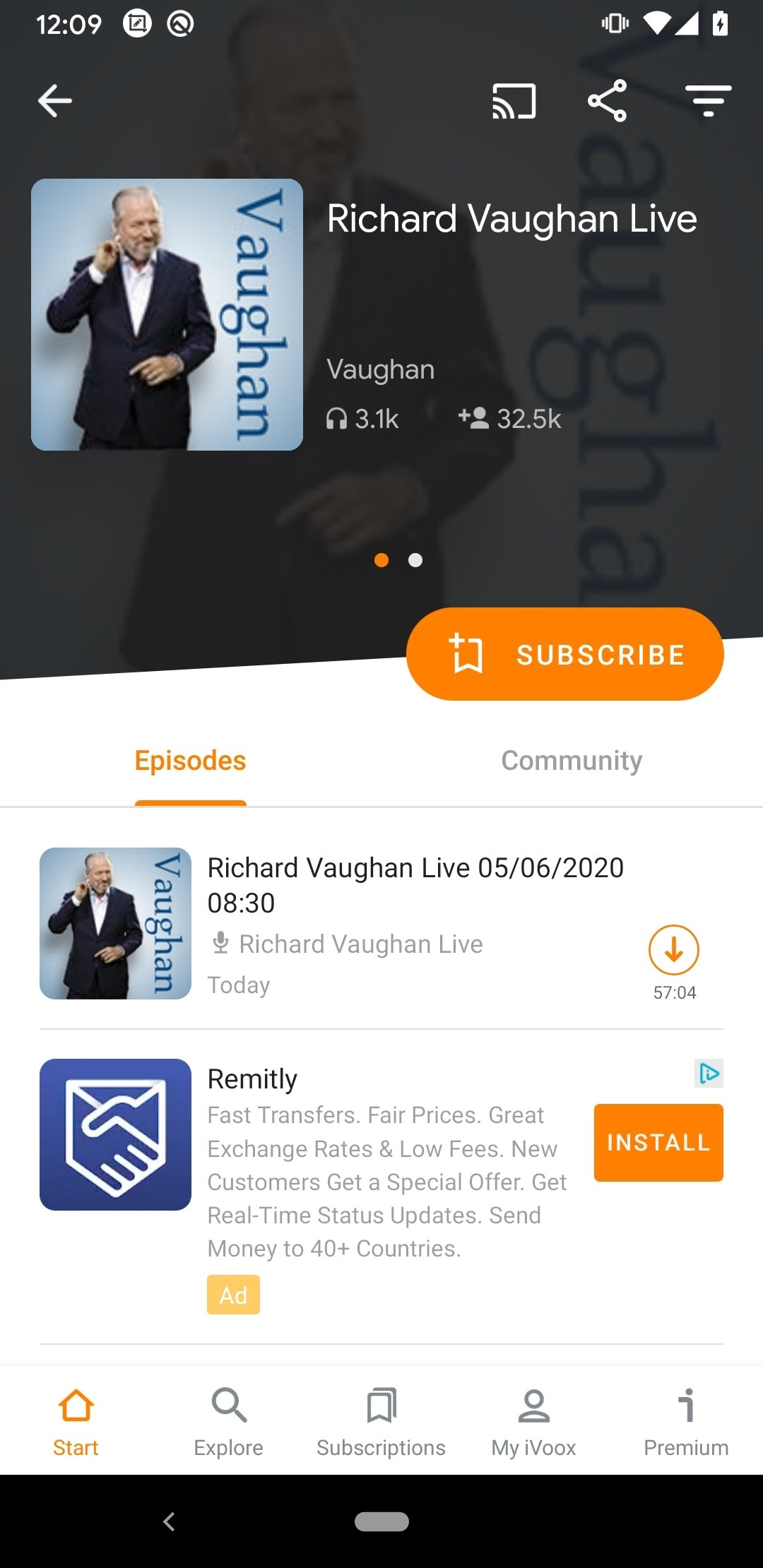 Download iVoox Podcast & Radio 2.220 Android - APK Free