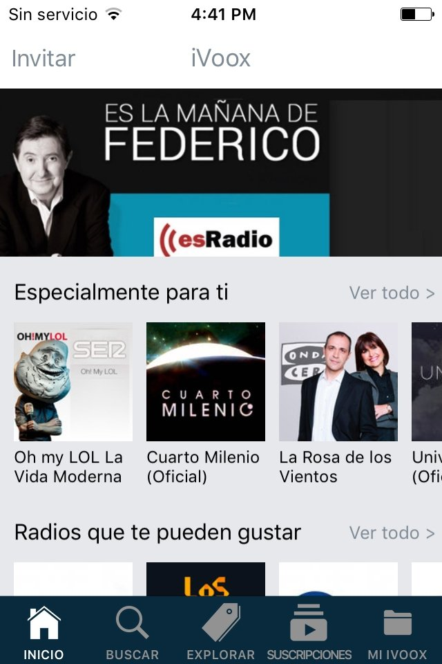 iVoox - Radio y Podcast 3.24.10 - Descargar para iPhone Gratis