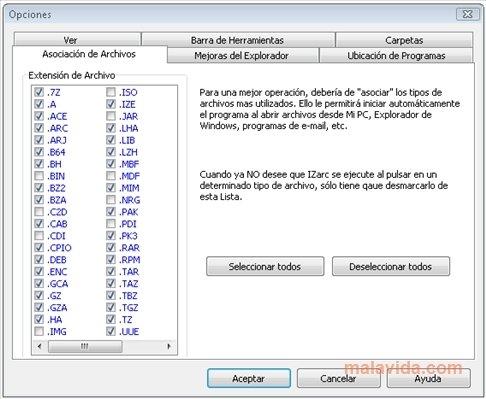 logiciel gratuit izarc