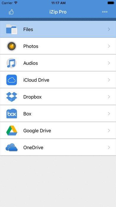 descargar zip gratis para iphone
