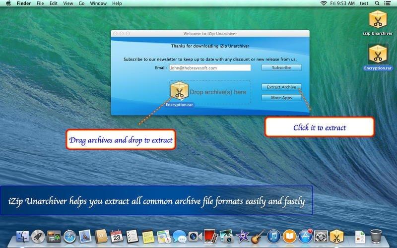 iZip Unarchiver Mac image 4