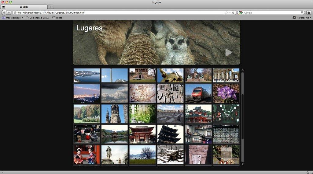 jAlbum Mac image 5