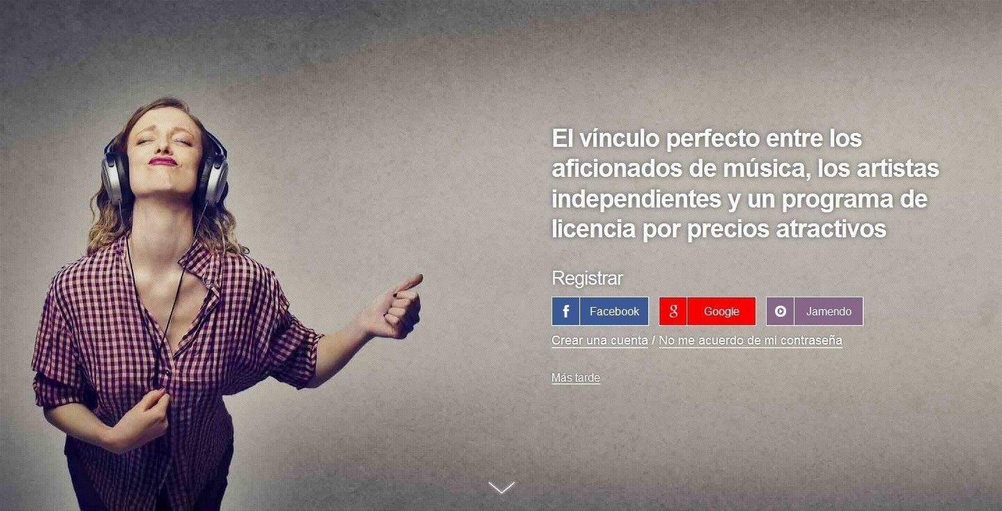 Jamendo Webapps image 5