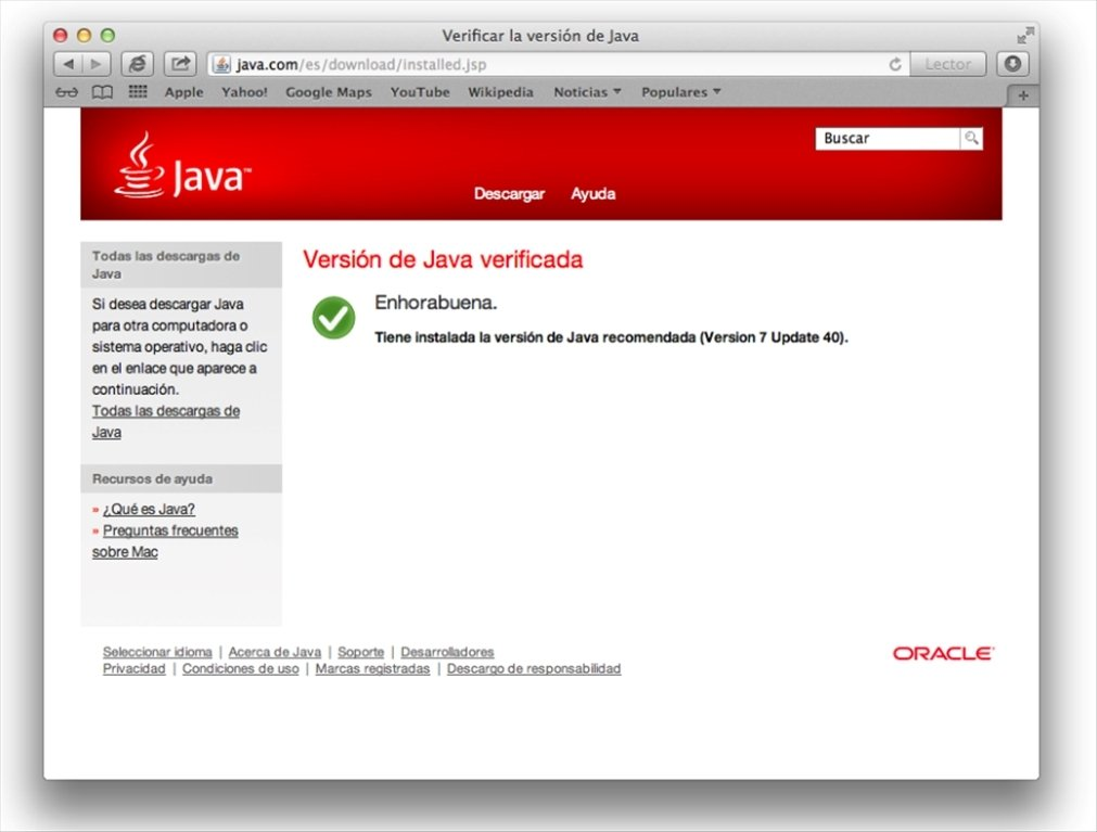 Java download for mac os x 10.9.5