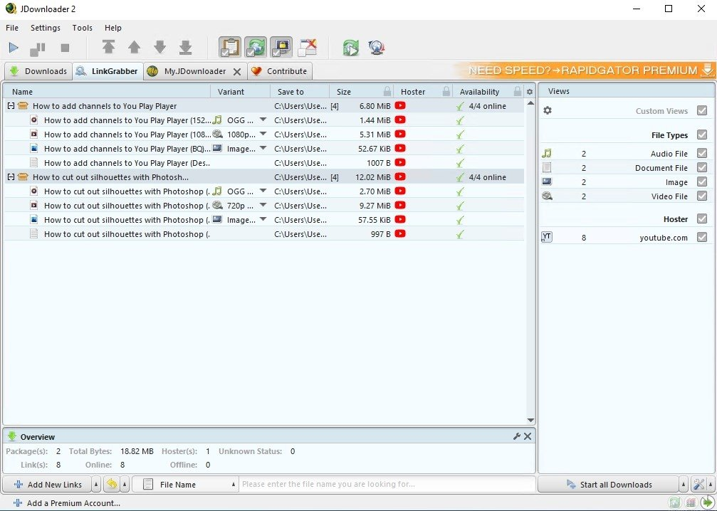 JDownloader 2 0 - Download for PC Free