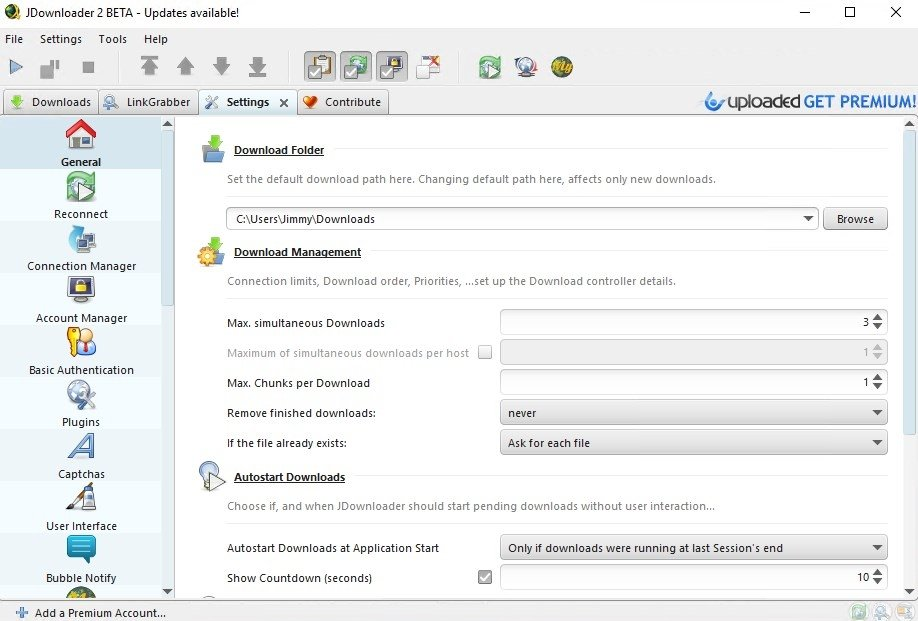 JDownloader Portable 2 - Download for PC Free
