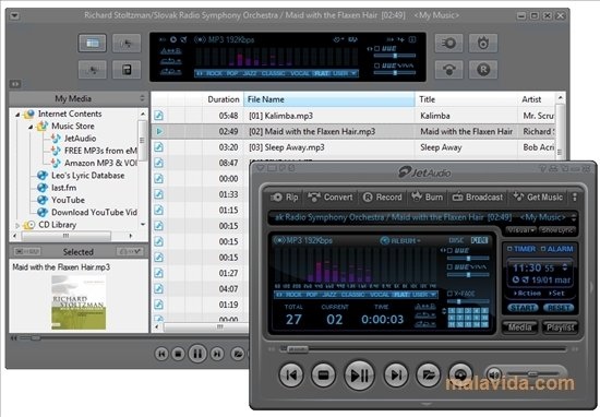 jetAudio screenshot