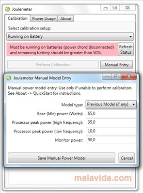 Joulemeter 1.2 - Download for PC Free