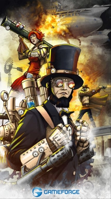 Steampunk Game iPhone image 5