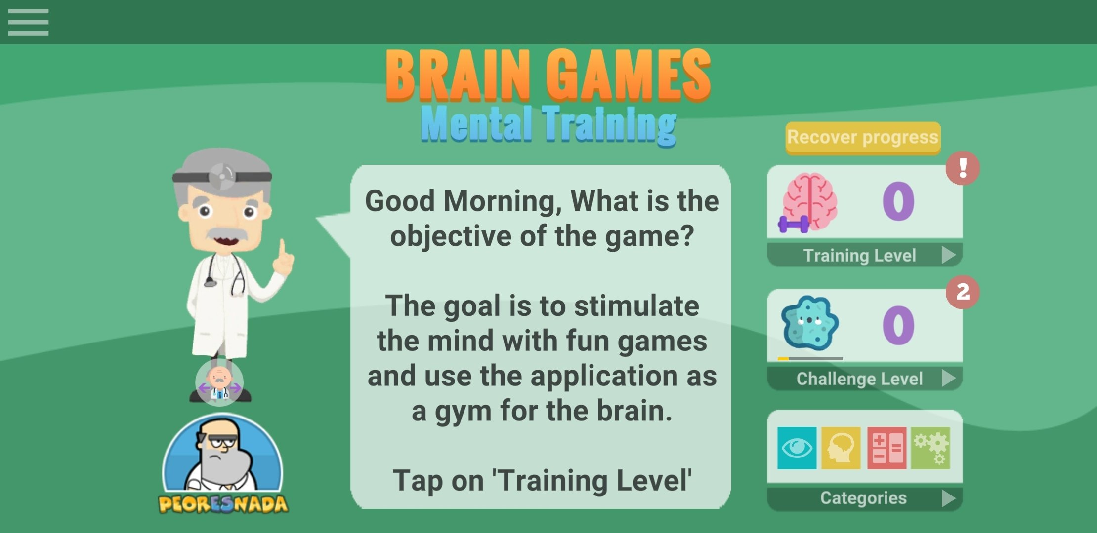 Brain Games: Mental Training Android image 6