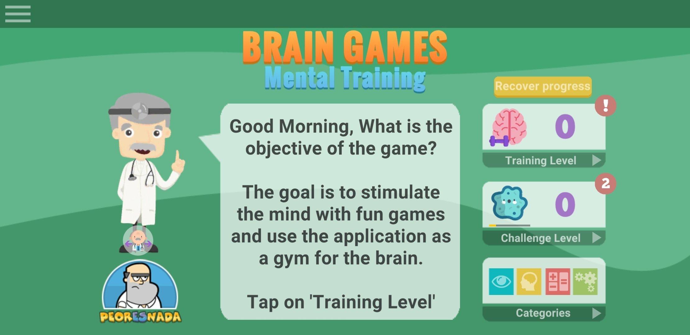 Juegos Mentales Entrenamiento Cerebral 1 55 8 Descargar Para
