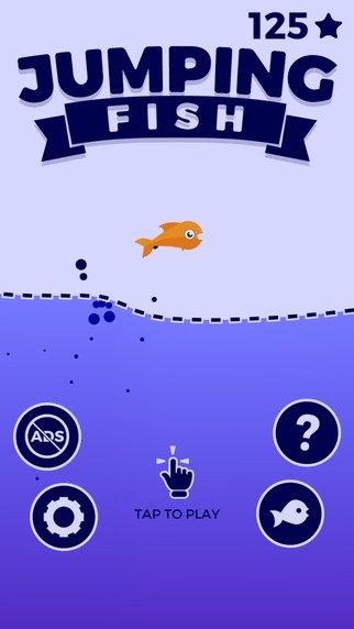 Jumping Fish iPhone image 5