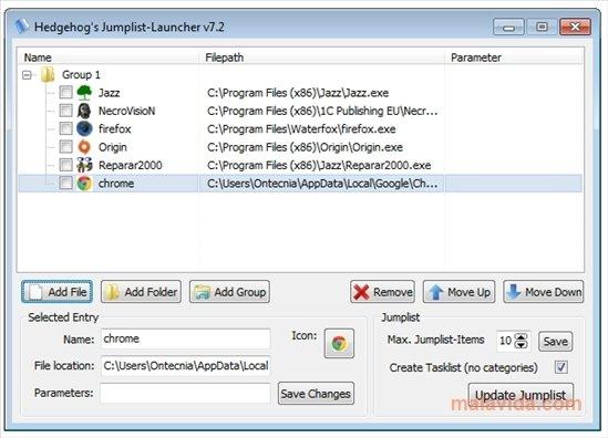 Jumplist Launcher image 2