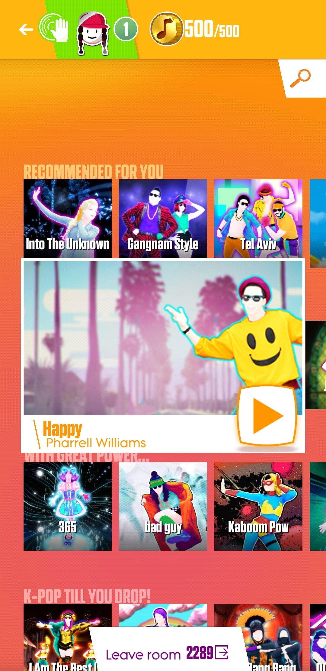 Just Dance Now Android image 8