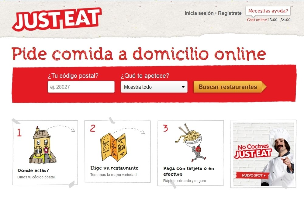 Just Eat Webapps image 5