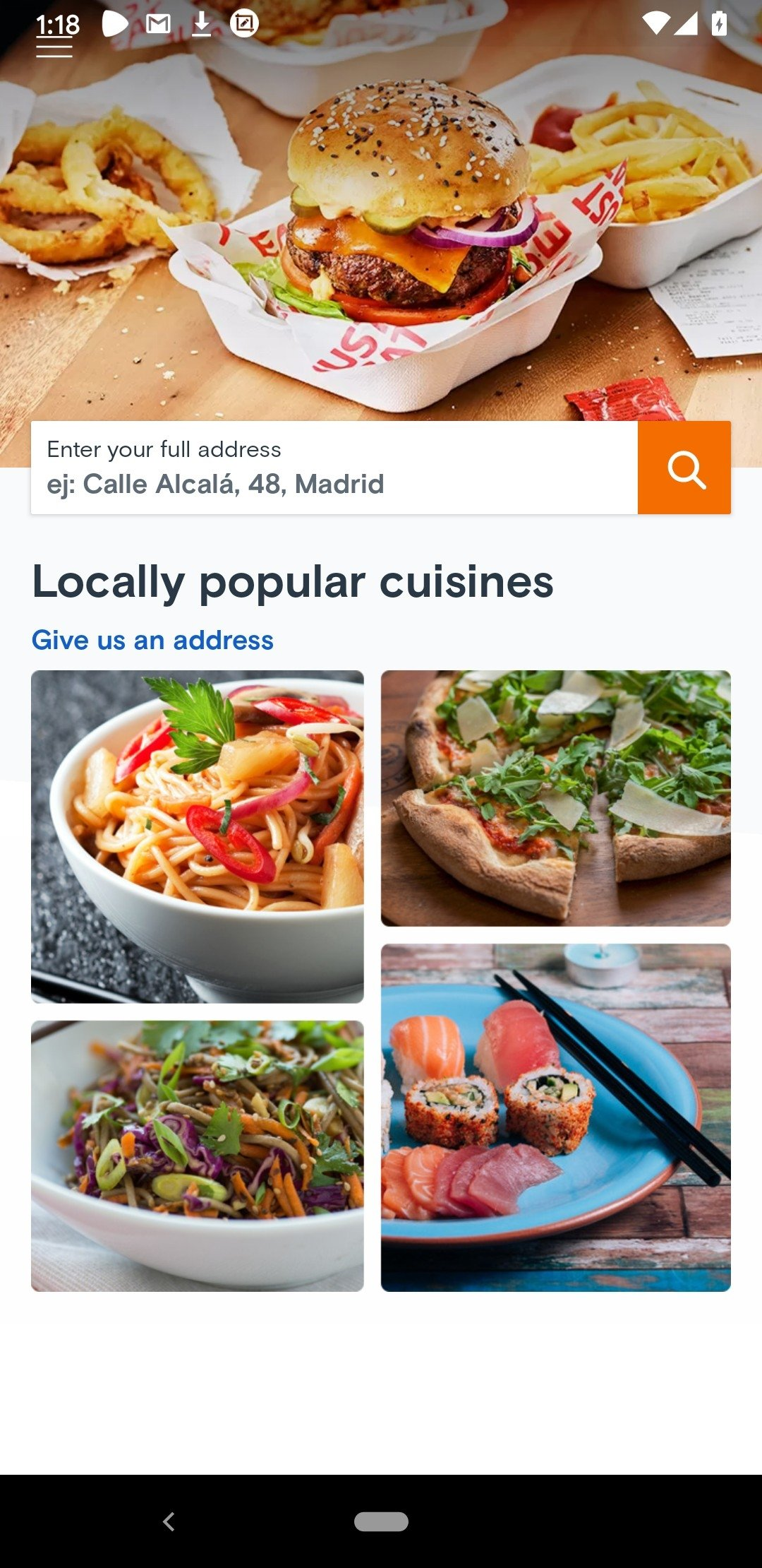 Just Eat Android image 5