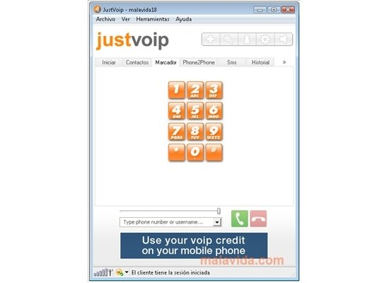 JustVoip 4.07.629