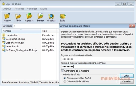jZip 2 0 0 135670 - Download for PC Free