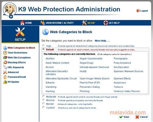 K9 Web Protection image 5