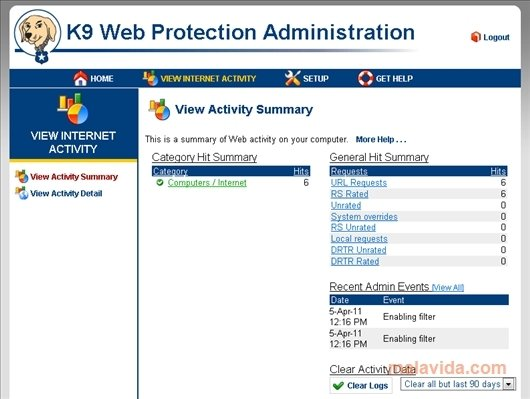 free download k9 web protection